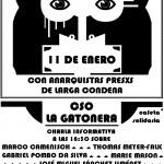 Μαδρίτη: Εκδήλωση αλληλεγγύης σε αναρχικούς αιχμαλώτους καταδικασμένους σε πολυετείς ποινές φυλάκισης
